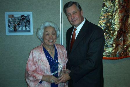 2005 Volunteer Award Elaine Yamagata