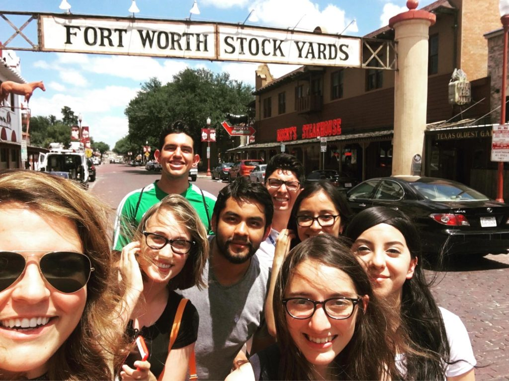 Youth at Fort Worth Stockyards